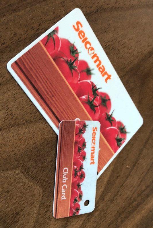 セイコーマートクラブポイントカード