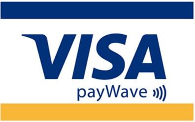 Visa payWaveのマーク