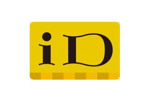 iD(アイディー)電子マネーの支払い可能なロゴ