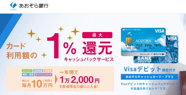 BANK(バンク)VISAデビットカード