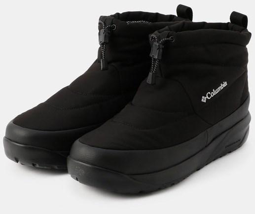 熱反射保温機能オムニヒートと水の侵入を防ぐウォータープルーフ素材で全天候に対応するショート丈ブーツ